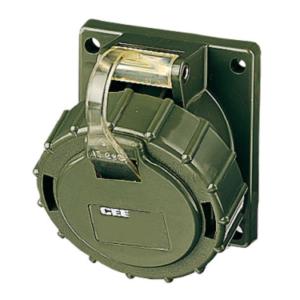 wojskowe gniazdo tablicowe skośne 400V