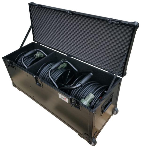 wojskowy zestaw zasilający 3 bębnowy HEADU3B