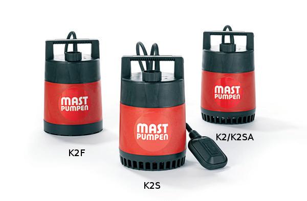 Pompa do osuszania piwnic MAST K