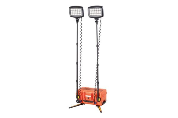 Przenośna lampa akumulatorowa solaris duo